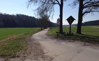 Zufahrt vom Schulzentrum