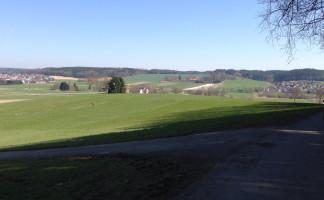auf dem Mühlberg - Aussicht