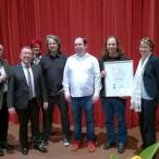 Wolfgang Bähner, Karl-Heinz Brunner, Petra Beer, die Preisträger, Ulrike Bahr