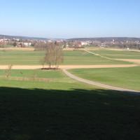 Ausblick vom Mühlberg in Richtung Krumbach