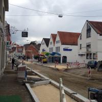Karl-Mantel-Straße Blickrichtung Stadtmitte 25.07.2017