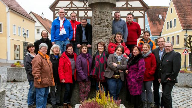 Gruppenfoto SPD Krumbach